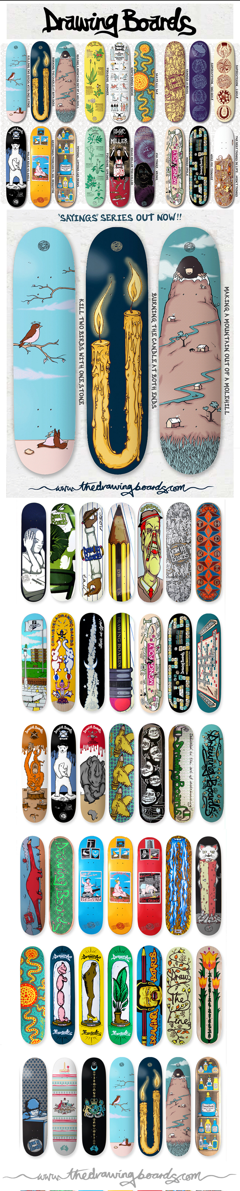 The Drawing Boards - Decks Summer