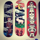 Painted decks